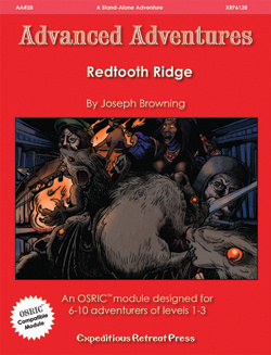 Redtooth Ridge 28 Advanced Adventures - Expeditious Retreat Press