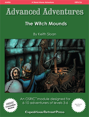 Advanced Adventures 26 The Witch -  Expeditious Retreat Press